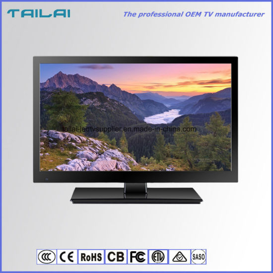 """Narrow Bezel 15.6"""" Wide Screen 16: 9 DVB-T TV LED with Low Power"""