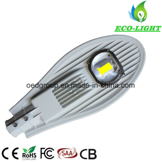 2 Years Warranty IP65 50W Sword White Paint Aluminum Path Lighting Outdoor LED Street Light pictures & photos