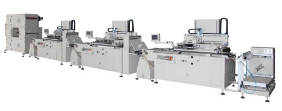 HYD56 Multicolor Machine Series Roll to Roll Screen Printing Machine Screen Printing Machine Heat Transfer Paper,Packing Label Packing Silk Screen Printer