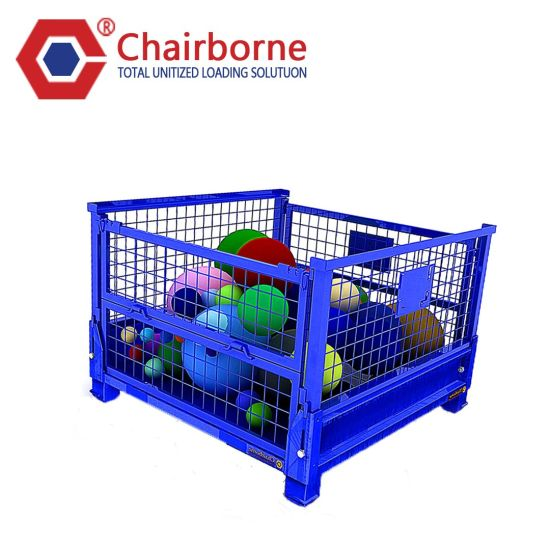 Folding Used Metal Pallet Mesh Container for Sale