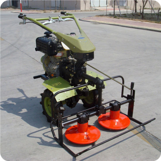 2019 Cheap Price Rotary Mower with Walking Hand Tractor