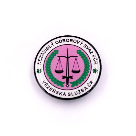 Promotion Customized Magnet Tin Badge Gift Custom Bronze Flashing Flag