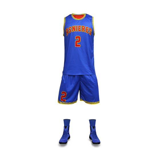 b7969cb5020 Latest Basketball Jersey Design Sublimation Printing Wholesale Basketball  Wear Blank Men Team Basketball Uniforms pictures &