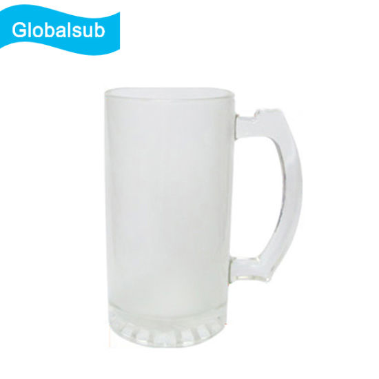 a72d1def0 16oz Personalized Frosted Beer Glass for Sublimation Printing. Get Latest  Price