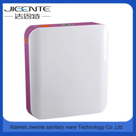 Jet-107 Dual Flush Super Thin Custom Plastic Toilet Plastic Cistern pictures & photos