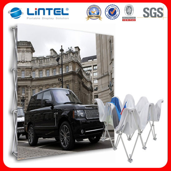 China Backdrop Banner Stand Trade Show Display FT FT Custom - Portable car show display stand