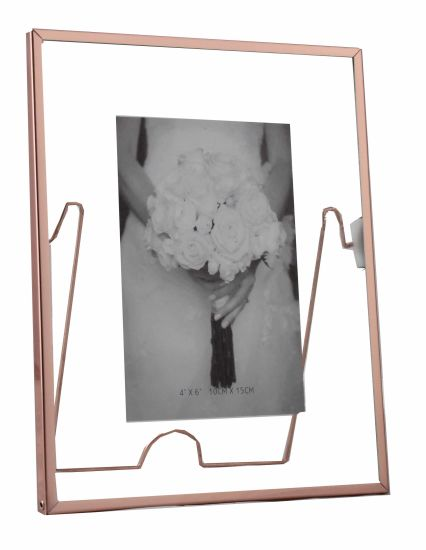Aluminum Rotatable Metal Picture Frame for Home Deco pictures & photos