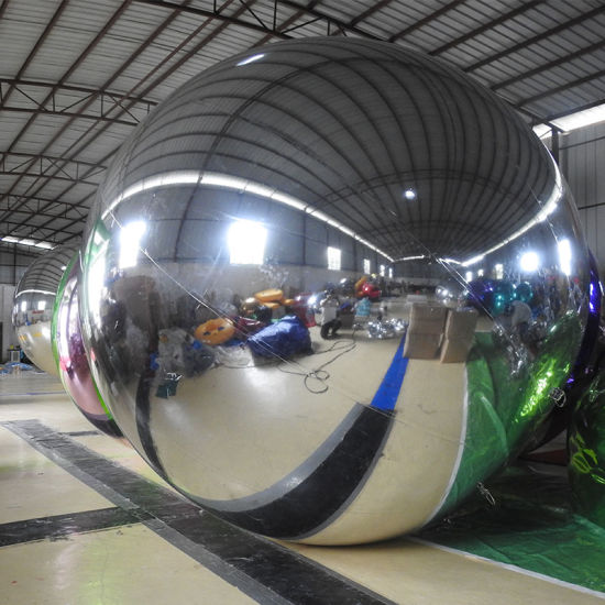 Inflatable Advertising Mirror Ball for Promotion