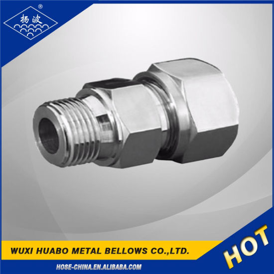 Stainless Steel Metric Thread Hydraulic Hose Fittings