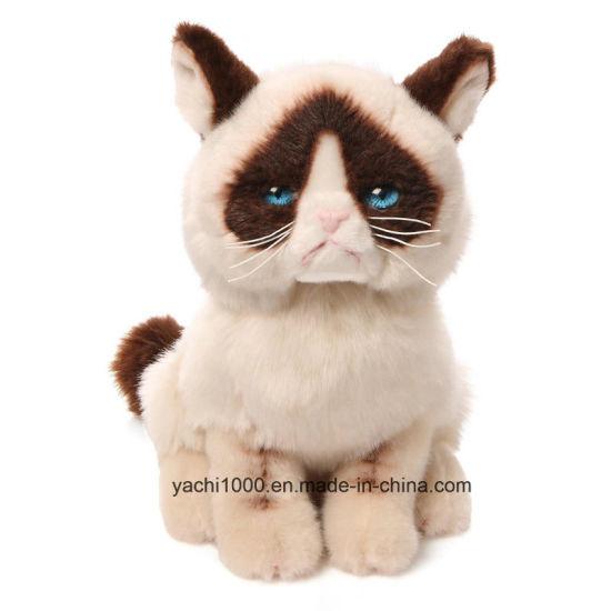 Wholesale Custom Plush Stuffed Animal Soft Kids Toy Cat