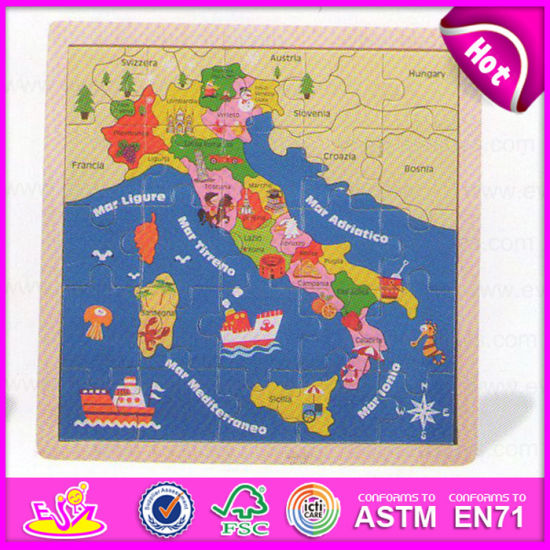 China 2015 Best Selling Picture Iq Wooden World Map Puzzles Toy for ...