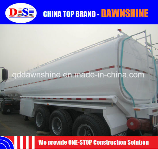 Brand New Cheap 3 Axle Oil Tank Semitrailer 36000 - 50000 Liters Fuel Tanker Semi Trailer Price pictures & photos