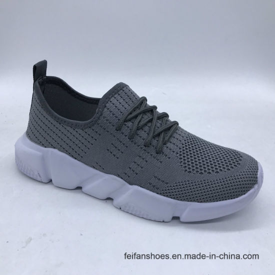 Light Flyknit Men Sport Shoes Running Shoes Athletic Shoes Casual Shoes Sneakers Shoes (ZJ1007)
