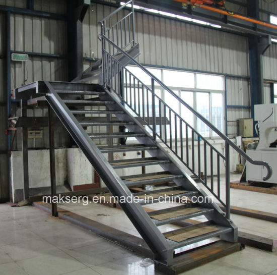 China Construction Steel Staircase with balustrade - China