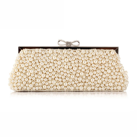754dc319ae Diamond Pearl Women Handbag Party Bag Designer Clutch Bag pictures & photos