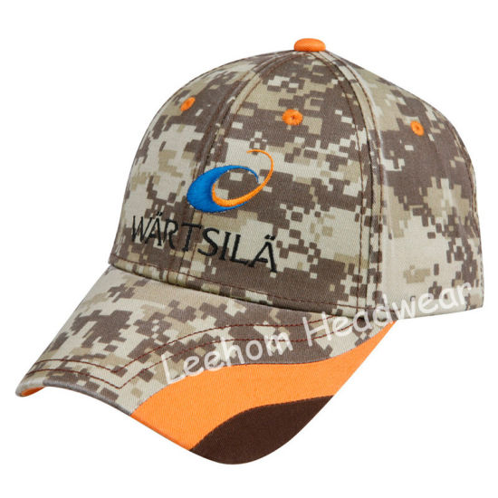 China Fashion Camouflage Cotton Cap for Promotional Products - China