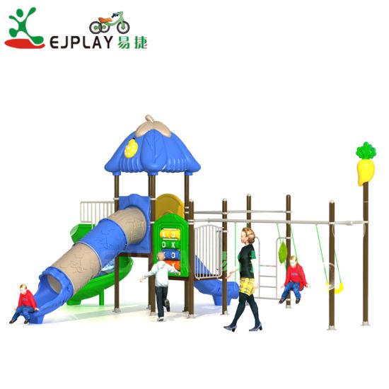 2018 Outdoor Playground Sets Children Amusement Park and Spiral Slide Equipment Attractive Outdoor Homemade Playground