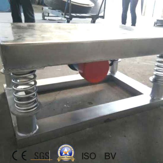 China Industry Homemade Vibration Table