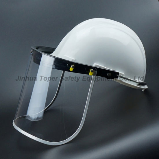 Clear PVC Faceshield Visor with Aluminium Border pictures & photos