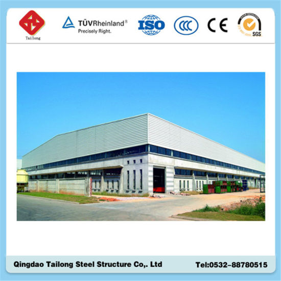 Fabricated Steel Structure Warehouse Building pictures & photos