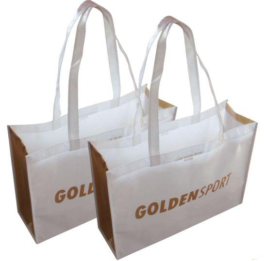 Wholesale Cheap Handbag Eco Friendly Reusable Supermarket Grocery Shopper Carry Bag Promotional Gift Custom Printed Non-Woven Fabric Foldable Tote bag(FLN-9079)