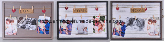Home Decoration Wall Frame, Wall Wired Picture Frame, Photo Frame, Wooden Craft Frame, Wooden Decoration Wall Frame, Home Decor Frame, Wooden Wall Frame pictures & photos