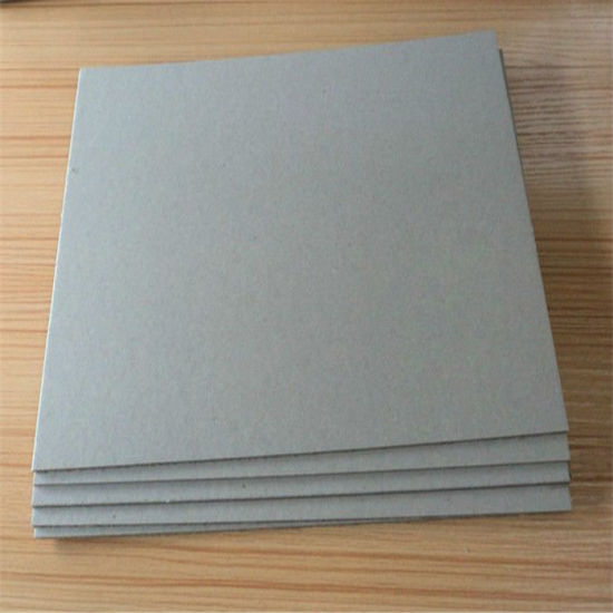 1mm, 1.5mm, 2mm, 3mm Laminated Grey Board/Grey Cardboard/Grey Chip Board pictures & photos