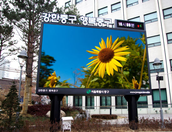 P10, P8 Full Color Outdoor Advertising LED Display/LED Sign pictures & photos