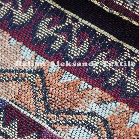 100% Polyester Jacquard Vintage Sofa Fabric