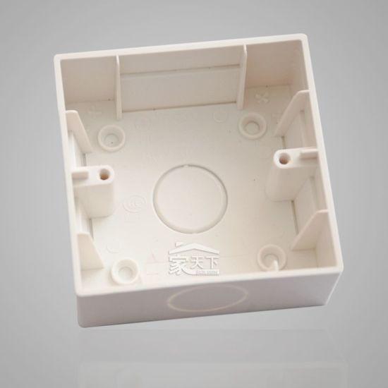 Plastic Electric Outlet Box Mould Casting