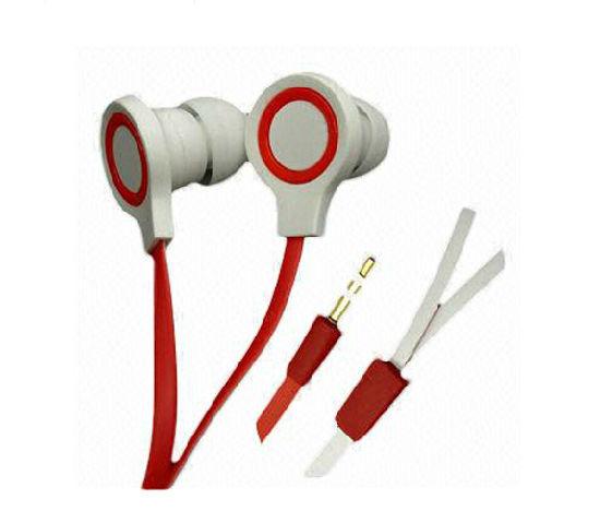 Novelty Creative Flat Wire Earphone