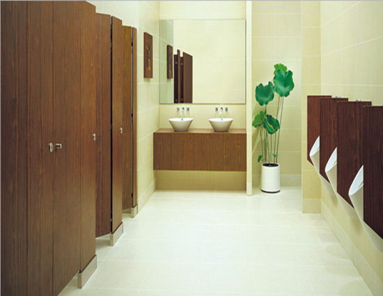 Fashionable in Design Compact Public Toilet Cubicle Partition pictures & photos