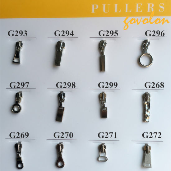 Zipper Puller with New Different Shape