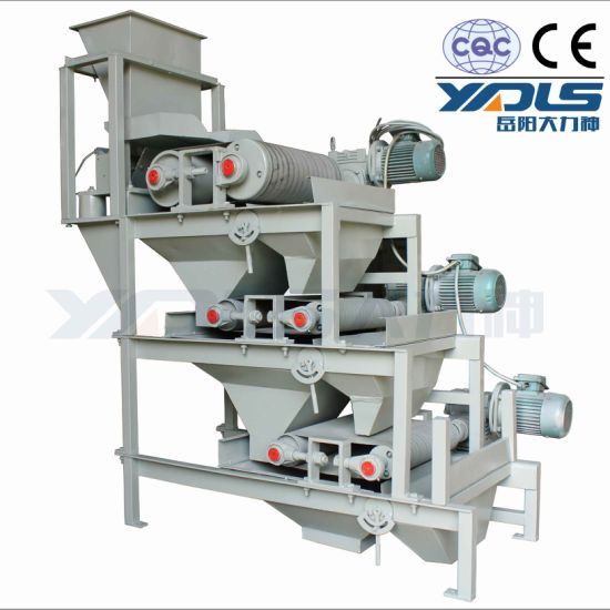 High Intensity Mineral Dry Roller Magnetic Machine for Iron Ore Mining Plant Cr 250*500 pictures & photos