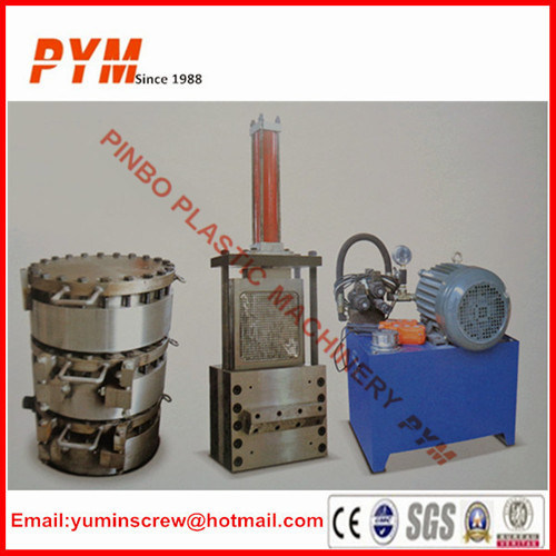 Extruder Screen Changer with Hydraulic Pump pictures & photos