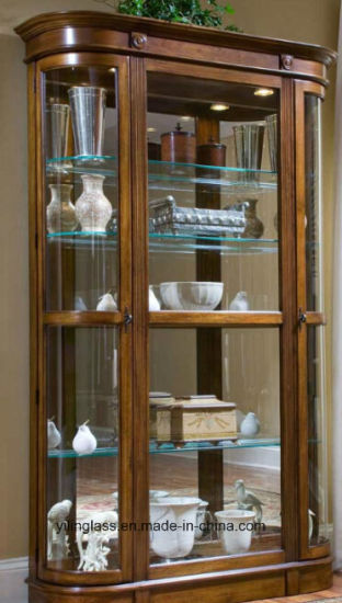 Toughened Shelf Galss for Furniture Cabinet pictures & photos