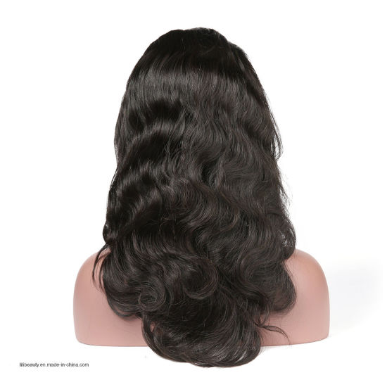 Full Human Hair Lace Wig 100% Virgin Hair Body Wave Wholesale Price pictures & photos