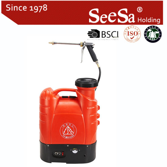 15L Electric Agricultural Knapsack/Backpack Battery Sprayer (SX-MD15DB) pictures & photos