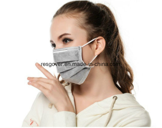 Earloop Pleated Ply Non Disposable 3 Masks Cm Face Woven Surgical