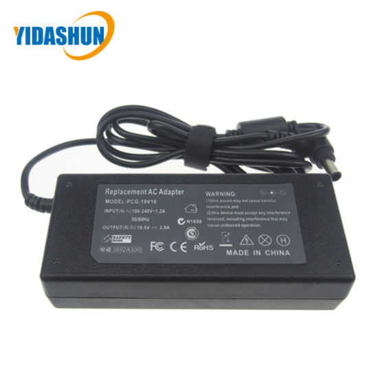 19.5V 3.9A 6.5*4.4mm Laptop Charger for Sony pictures & photos