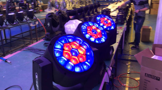 19X15W Bee Eye Zoom RGBW 4in1 LED Moving Head Beam Light pictures & photos