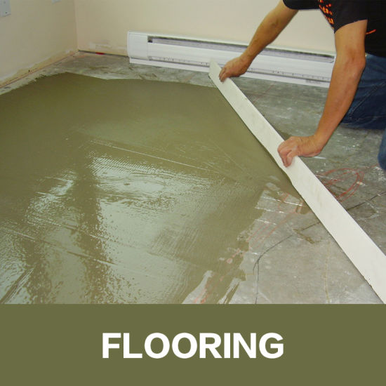 Screed Leveling Mortar Used Cellulose Ethers HPMC
