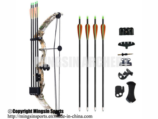 China M110 Archery Youth Compound Bow Right Handed Bow Kit 15 20lbs