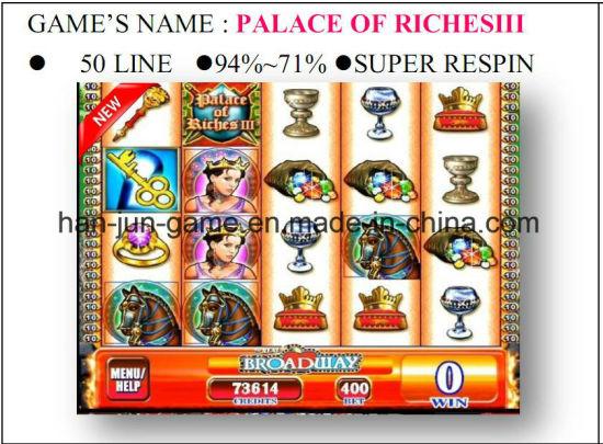 Palace of Riches3 Slot Arcade Gambling Casino Game Machine