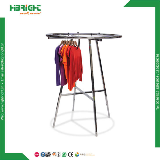 Round Circle Clothing and Garment Display Racks pictures & photos