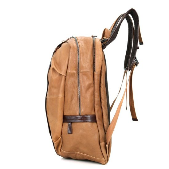 cc5fa3af5c Ebay Hot Selling Good Quality Low Price Real Leather Designer Bag Laptop  Backpack for Men