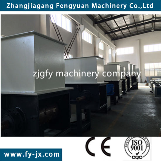 New Economical Plastic Machine& Plastic Shredder Machine (fyd1000) pictures & photos