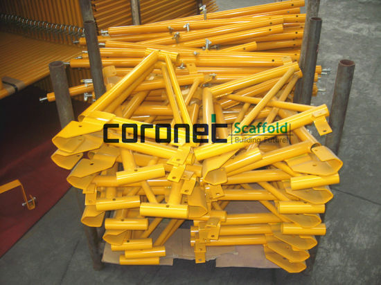 ANSI Certified Powder Coated Side Bracket for Frame Scaffold (CSSB) pictures & photos