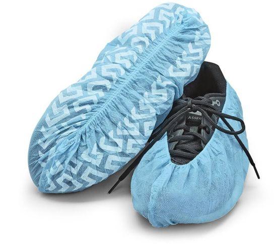 e0def20b464 China 2016 Blue Color Disposable Polypropylene Shoe Covers ...