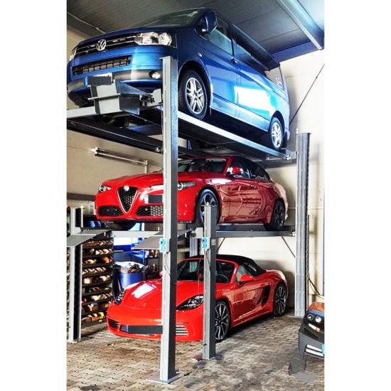 2 Post Two Level Hydraulic Auto Parking Hoist